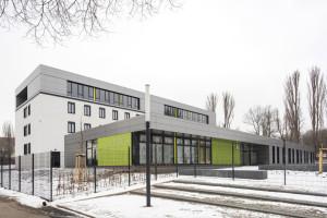 Ansicht Berufsbildungszentrum Weimar.