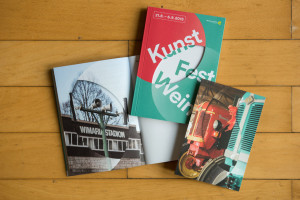 Programmheft des Kunstfest Weimar