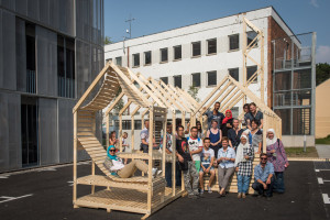 Teilnehmer der summerschool in den StadtLand tools