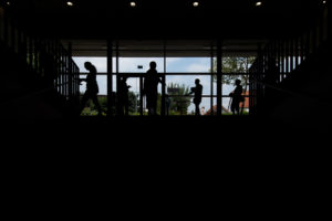 Jena: Umbau und Erweiterung Schulgebäude, Sporthalle, Aula Ernst-Abbe-Gymnasium / Ammerbacher Straße 21 / Arge Junk & Reich / Hartmann + Helm, Weimar | Heinisch Landschaftsarchitekten, Weimar | Bauherr: Kommunale Immobilien Jena