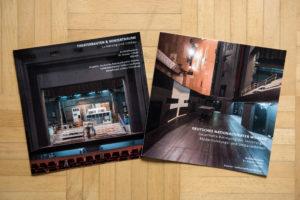 Broschüren des Architekturbüros Dr. Krause + Pfohl