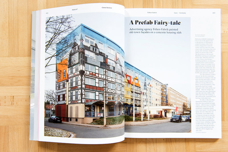 Plattenbau in Gera für MARK-Magazin