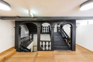 Barockes Treppenhaus Zur Sonne