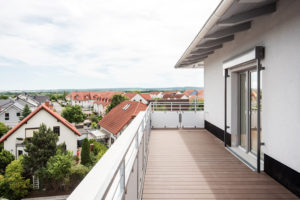 Dachterrasse Mehrfamilienhaus mit Servicewohnen Haus 2